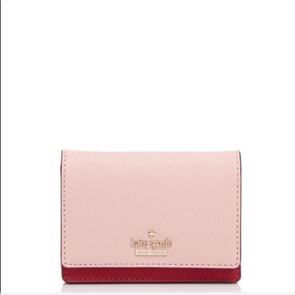 kate spade Handbags - Kate Spade Leather Wallet Key Chain